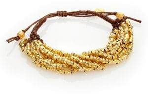 Chan Luu Beaded Cord Multi-Strand Bracelet