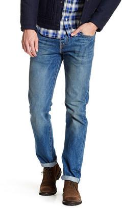 "Levi's 511 Slim Fit Selvedge Denim Jean - 30-34\"" Inseam $128 thestylecure.com"