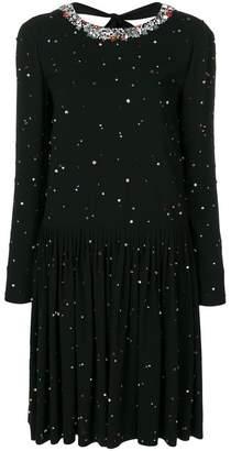 Miu Miu embellished sabl dress