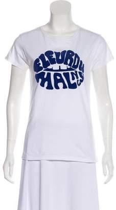 Fleur Du Mal Logo Crew-Neck T-Shirt