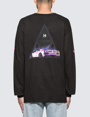 HUF Night Call Triple Triangle L/S T-Shirt