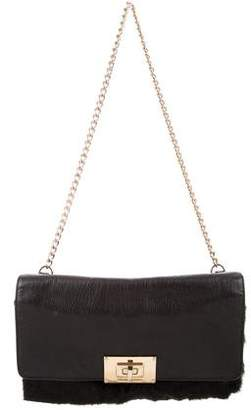 MICHAEL Michael Kors Fur-Trimmed Shoulder Bag