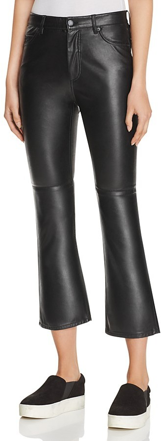 Cheap Monday Cheap Monday Coated Crop Boot Jeans in Drift Flash