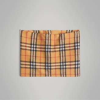 Burberry Vintage Check Cashmere Snood