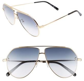 Stella McCartney 60mm Aviator Sunglasses
