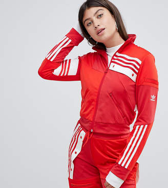 adidas X Danielle Cathari Deconstructed Track Top In Red