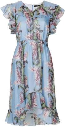 Steffen Schraut tropical print dress