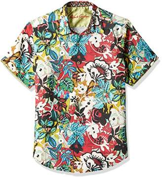 Robert Graham Men's Havana Short Sleeve Shirt