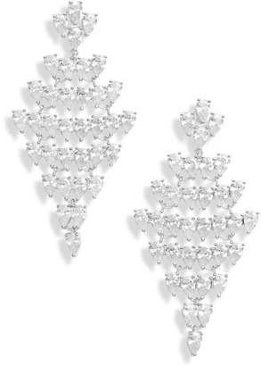 Nordstrom Teardrop Chandelier Earrings