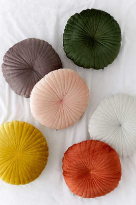 Shelly Round Velvet Pillow
