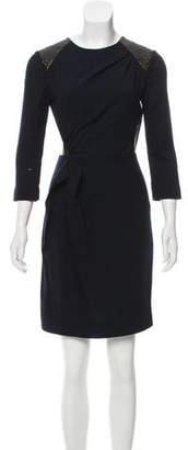 Roksanda Wool-Blend Mini Dress