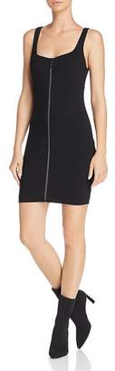 GUESS Mira Zip-Front Body-Con Dress