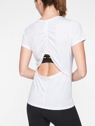 Athleta Essence Cinch Tee