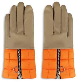 ARISTIDES Puffer Detail Gloves