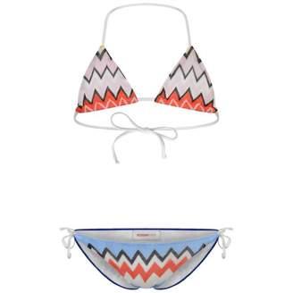 Missoni MissoniGirls Blue Zigzag Bikini