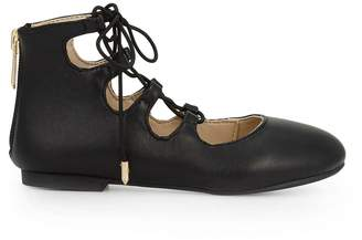 Sam Edelman Girls Felicia Stella Lace-Up Flat