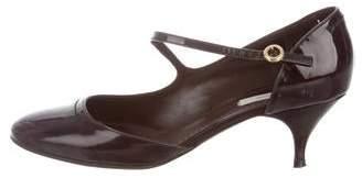 Marc Jacobs Patent Leather Semi D'Orsay Pumps
