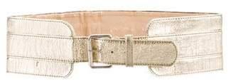 Chloé Metallic Waist Belt