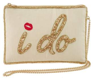 Mary Frances I Do Embellished Evening Bag