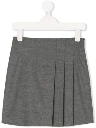 Il Gufo pleated mini skirt