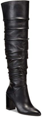 INC International Concepts Anna Sui Loves I.n.c. Tabithaa Over-The-Knee Boots, Created for Macy's Women's Shoes
