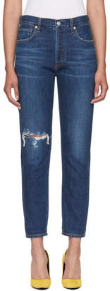 Citizens of Humanity Blue Liya Classic Jeans