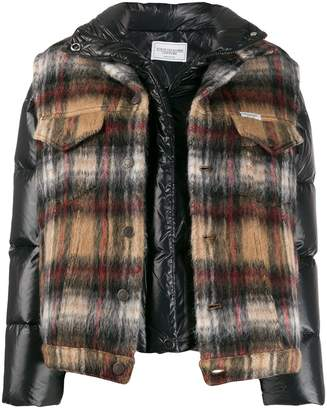 Couture Forte Dei Marmi layered padded jacket