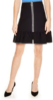 Sandro Noir Zip Skirt