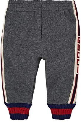 Gucci Kids' Logo Cotton French Terry Sweatpants