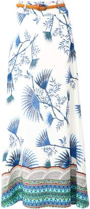 Dorothy Perkins Womens *Izabel London Multi Colour Border Print Maxi Skirt
