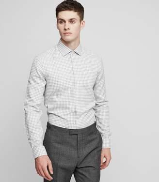 Reiss LINDSTROM Gingham shirt