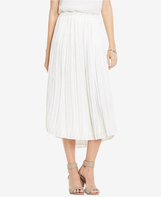 Vince Camuto Pleated Midi Skirt $109 thestylecure.com