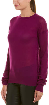 Helmut Lang Fringe Cashmere Sweater