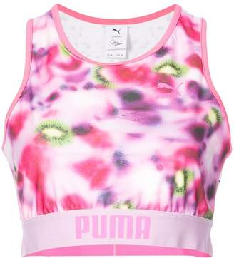 Puma X Sophia Webster gradient sports bra top