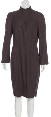 Akris Wool Knit Dress