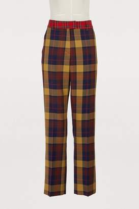 Jour/Né Check print pants