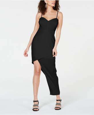 Material Girl Juniors' Asymmetrical-Hem Bodycon Dress