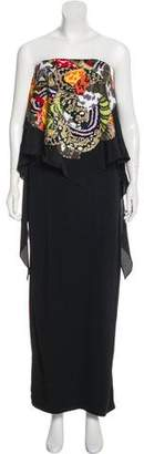 Fendi Sequin-Embellished Maxi Dress