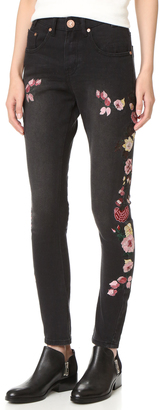 One Teaspoon Birds Of Paradise Scallywags Jeans $198 thestylecure.com