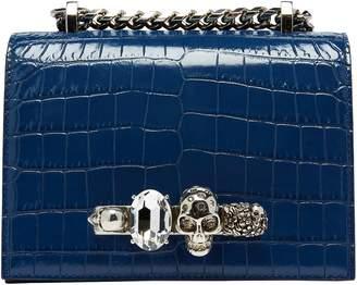 Alexander McQueen Jewelled small shoulder bag