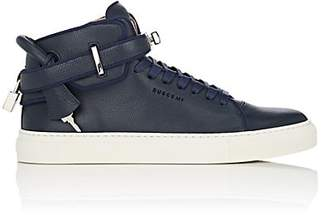 Buscemi Men's 100MM Edge Leather Sneakers - Navy