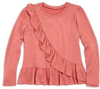 Aqua Girls' Ruffle-Detail Top, Big Kid - 100% Exclusive