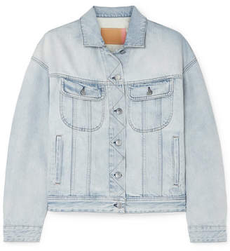 Acne Studios Lamp Denim Jacket - Light denim