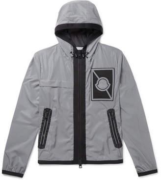 Moncler C - Gauss Appliqued Reflective Shell Jacket - Gray