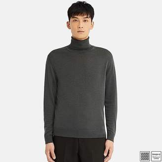 Uniqlo Men's U Extra Fine Merino Turtleneck Long-sleeve Sweater