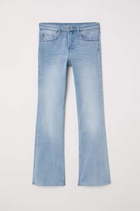 H&M Superstretch Boot cut Jeans - Blue