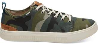 Toms Camo Canvas Men's TRVL LITE Low Sneakers