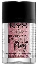 NYX Foil Play Cream Pigment-French Macaroon Eye Shadow - 0.29oz
