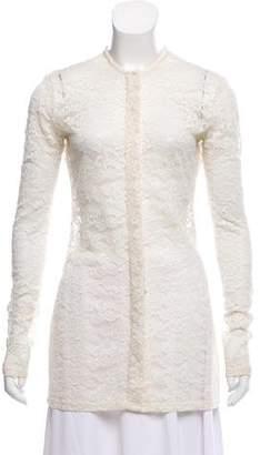 Celine Long Sleeve Lace Tunic
