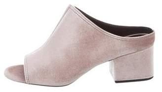 3.1 Phillip Lim Cube Velvet Sandals w/ Tags